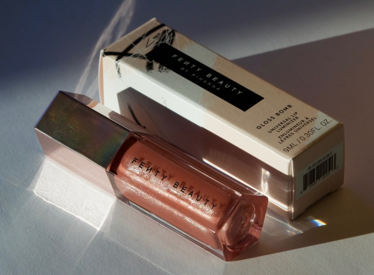 fenty beauty gloss bomb fenty glow review