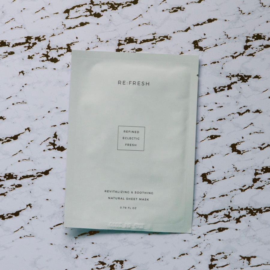 Beyond Aesthetics and Buzzwords: A Review of the RE:FRESH Revitalizing & Soothing Natural SheetMask